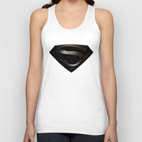 superman Tank Tops featuring SUPERMAN by Smart Friend