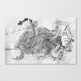 Pencil Lace Canvas Print