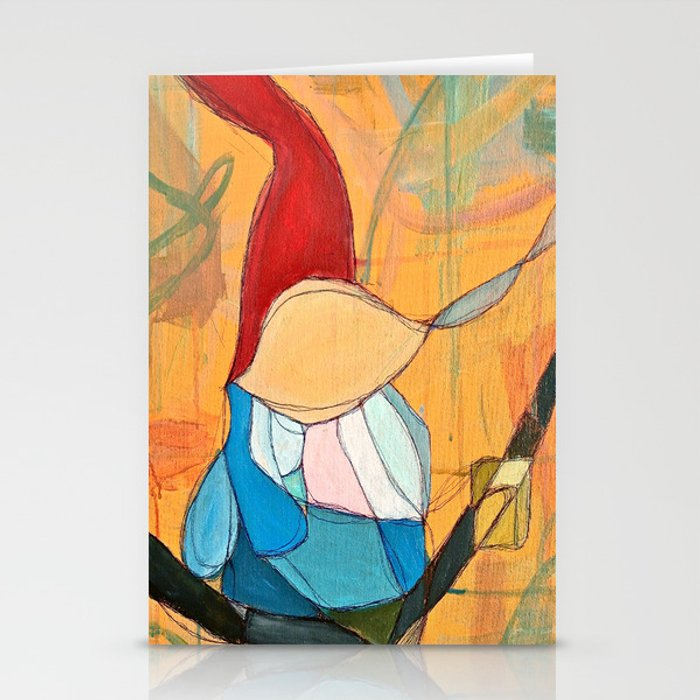 Abstract Study of Gnome (Pt.4) Stationery Cards