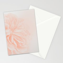 Light Peach Rose #3 #floral #art #society6 Stationery Cards