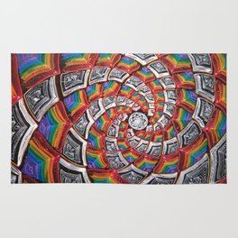 Tunnel To The Moon Rug