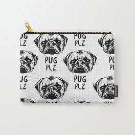 Pug Plz Carry-All Pouch