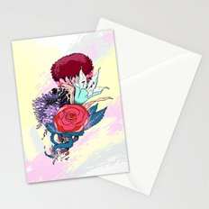 Chrysanth Wisteria & Lily - & Rose  Stationery Cards
