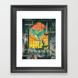 The Aviary Framed Art Print