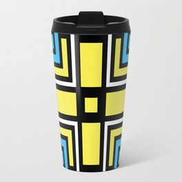 geometric art 3 Travel Mug