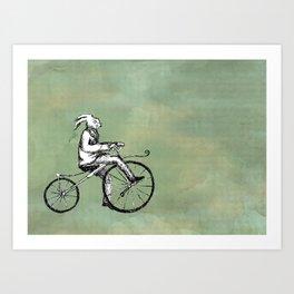 Rabbit's Bone Shaker Ride Art Print