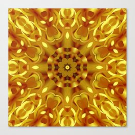kaleidoscope Flower G68 Canvas Print