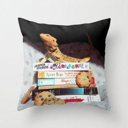 Mayli + Cookies Throw Pillow