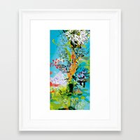 vegeta Framed Art Prints featuring Vegeta by Latiber