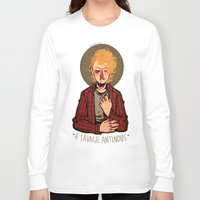 enjolras Long Sleeve T-shirts featuring a savage antinous by monsternist