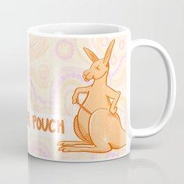 Kangaroo Zipper Pouch Coffee Mug