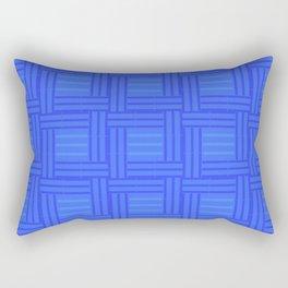 Elour Blue Tile Rectangular Pillow