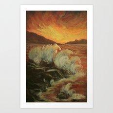 Farthest Reaches AC160829a Art Print