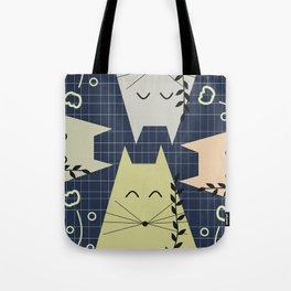 A few happy cats Tote Bag