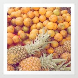 Tutty Fruity Art Print