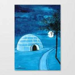 Dream Places to Visit Canvas Print