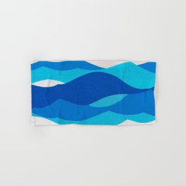 Waves Hand & Bath Towel