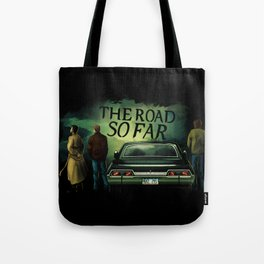 The Road So Far Tote Bag