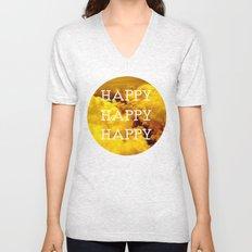 Happy Happy Happy II Unisex V-Neck
