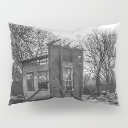 House Of The Rising Sun - Black And White Pillow Sham
