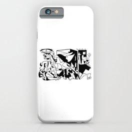 Pablo Picasso Guernica 1937 Artwork Shirt, Art Reproduction iPhone Case