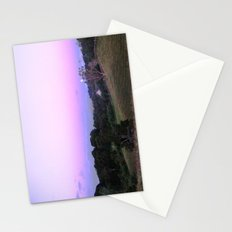 Strange Moon Rising Stationery Cards