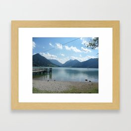 Lake Schliersee Framed Art Print