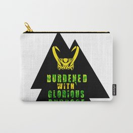Burdened with Glorious Purpose Carry-All Pouch