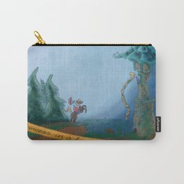 A Princess in the Tower Carry-All Pouch