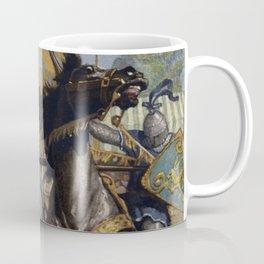 Knights jousting Coffee Mug