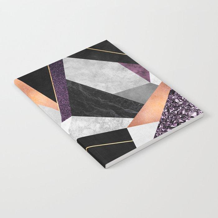 Purple Geo Notebook