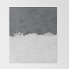 Wall Paint Throw Blanket