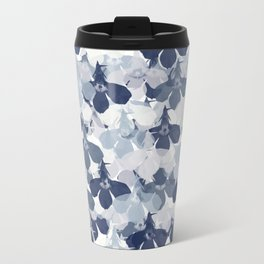 Abstract flower pattern 2 Travel Mug