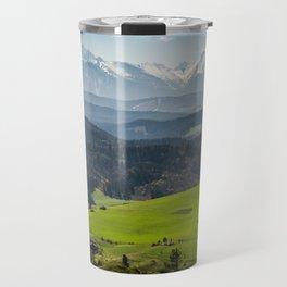 Tatry Poland Landscape Travel Mug