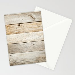 Rustic Barn Board Wood Plank Texture Stationery Cards