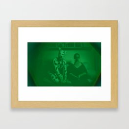 An Inside Look at the Manpup and Friend Framed Art Print