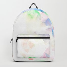 170322 Soft Pastel Watercolour 10  Modern Watercolor Art   Abstract Watercolors Backpack