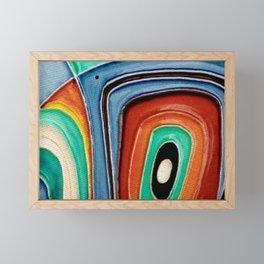 The Kandinsky's Chubby Bird 1 Framed Mini Art Print