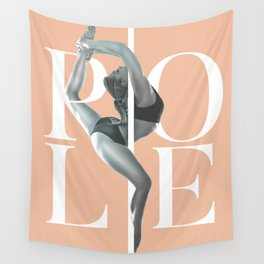 Pole Dance Wall Tapestry