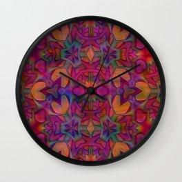 Escher Tile II Wall Clock