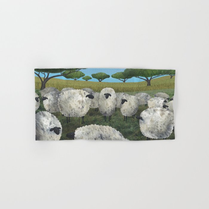 greener pasture Hand & Bath Towel