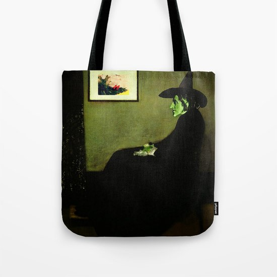 Wizzler's Mother     Wicked Witch Tote Bag