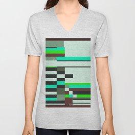 Geometric design - Bauhaus inspired Unisex V-Neck