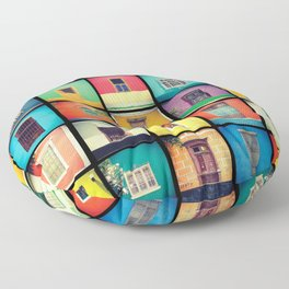 ventanas BARRANCO Floor Pillow