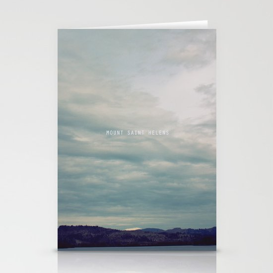 Mount St. Helens Stationery Cards
