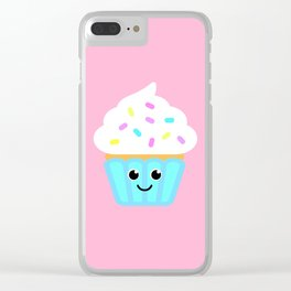 The cutest cupcake in town! Clear iPhone Case