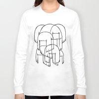 sia Long Sleeve T-shirts featuring sia bobs by Melina Espinoza