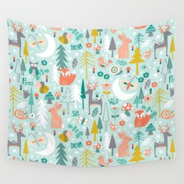 Forest Of Dreamers Wall Tapestry