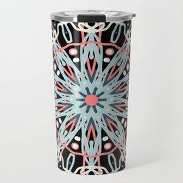 mandala art Travel Mug