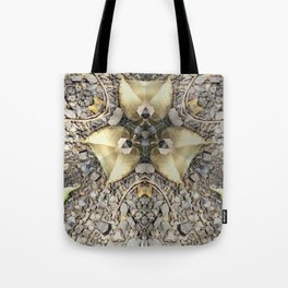 A Patterned Ground Tote Bag